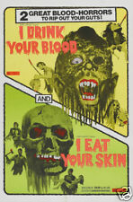 I drink your blood  1970 cult horror movie poster #2
