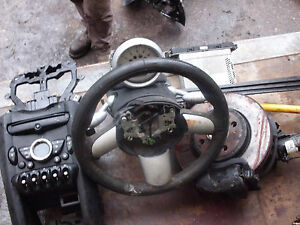 bmw mini steering column/wheel & rev counter