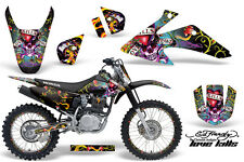 Honda CRF 150/230f Graphic Kit AMR Racing # Plates Decal Sticker Part 08-13 EDL