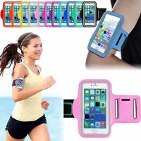 Sports Cycling Running Jogging Gym Reflective Armband Key Bag Case Cover Holder