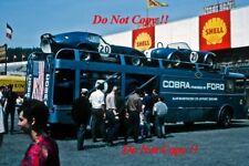 Alan Mann Racing Daytona Cobra Coupe & Shelby Cobra Spa fotografía 500 km 1965 1