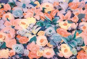 Photography Background Props Vinyl Photo Backdrop Wedding Flowers Baby 3x2FT