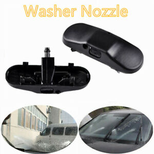 2 Windscreen Washer Jet Water Spray Nozzle Fit VW Caddy for Jetta for Golf MK5 6