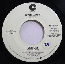 Hear! Funk Disco Promo 45 Cerrone - Supernature / Supernature On Cotillion