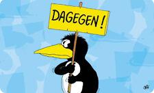 ULI STEIN Frühstücksbrettchen Brettchen Pinguin Dagegen - NEU