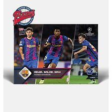 Samir Blade Gavi FC Barcelona RC Rookies UCL TOPPS NOW Card #18 Presale