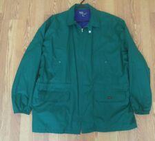 RARE Vintage Polo Sport Ralph Lauren Jacket Fleece Lined Patch Green XL VTG 90s