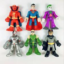 Lot of 6pcs Fisher-Price Imaginext DC Super Friends Superman Batman Joker Arrow