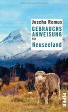 Gebrauchsanweisung für Neuseeland von Remus, Joscha | Buch | Zustand gut