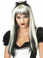 California Costume Collection - Enchanted Tresses (Black/White) Adult Wig NEW