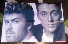 WHAM Prince Jackson Duran A-ha Madonna Spandau  Smash Hits 2-sided Poster 36x24
