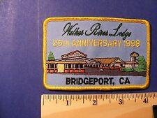 walker river lodge, 25th anniversary 1998, bridgeport, ca. patch