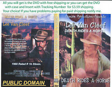 Death Rides a Horse (DVD) Lee Van Cleef {You Choose Shipping}