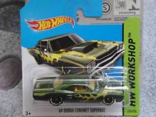 Hot Wheels 2014 # 212/250 1969 Dodge Coronet Superbee Verde