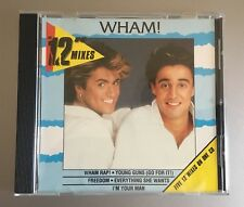 "WHAM 12"" REMIXES CD COLLECTION RARE AUSTRALIAN GEORGE MICHAEL NEW CD"