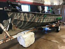 14' Aluminum Mirrorcraft 20Hp Evinrude w/ Northland Trailer T1291698