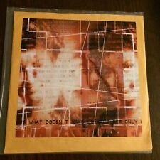"Hardesty ""What Doesn't Make Us Stronger"" LP Tour Maroon Vinyl #128/200 Seattle"