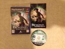 Beyond Good & Evil PS2 Play Station 2 Pal ESPAÑOL