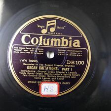 78rpm TERENCE CASEY organ imitations DB100