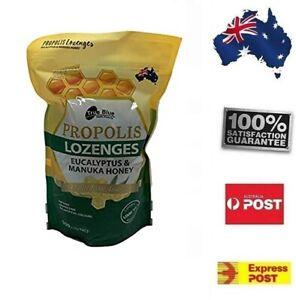 800G Manuka Honey Eucalyptus Lozenges True Blue Health Individual pack POST