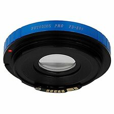 Fotodiox Pro Lens Mount Adapter w/Focus Confirmation Chip Canon FD Lens to Ca...
