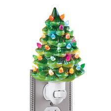 Ceramic Christmas Tree Night Light - 6