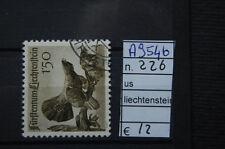 FRANCOBOLLI LIECHTENSTEIN USATI N. 226 (A9546)