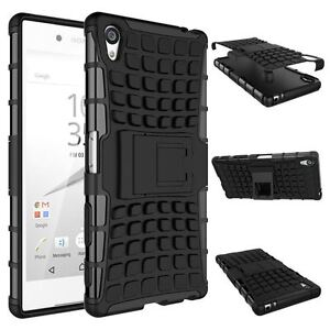 Shock Proof Defender Heavy Duty Tough Armour Case Cover for Sony XPERIA Phones