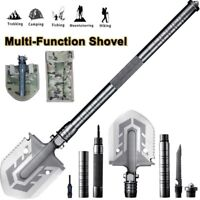 Survival Folding Shovel Outdoor Camping  Tactical Emergency Gear Hunting Tool