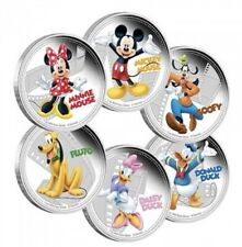 2014 Niue $2 Mickey & Friends Silver Coin Set (6 Coins)