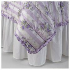 Simply Shabby Chic Twin Solid White Bed skirt