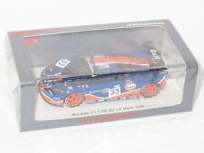 1/43 McLaren F1 GTR LM BMW  Gulf Racing  Le Mans 24 Hrs 1996 #33