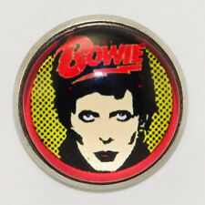 David Bowie Ziggy Stardust Pin Badge Retro Rock Music Band Retro 60s 70s 80s