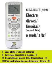 Telecomando condizionatore Electra aria condizionata climatizzatore inverter