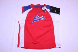 Infant/Baby Chicago Cubs 12 Months NWT Sleeveless Jersey Shirt (Red) Nike