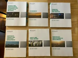 2018 CFA Institute Level 1 Curriculum Vol. 1-6; Like New
