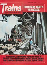 TRAINS Magazine Volume 33 Number 1 November 1972