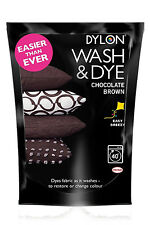 Dylon Chocolate Brown Wash & Dye 350g