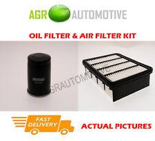 PETROL SERVICE KIT OIL AIR FILTER FOR MITSUBISHI GALANT 2.0 133 BHP 2001-02
