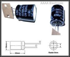 EPCOS ELKO radial Kondensator 4700µF 16V 20 % 85°  2  Stück