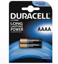 DURACELL MN2500 MX 2500 BLISTER 2 BATTERIE AAAA 1,5 VOLT ALCALINE