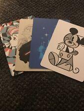 Lot Of 4 Disney Post Cards