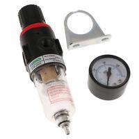 AFR2000 Air Filter Regulator Moisture Trap Pressure Gauge Compressor