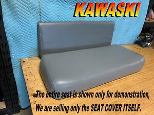 KAWASAKI MULE 550 NEW SEAT COVER UTV GRAY COVERS KAF300C 995A