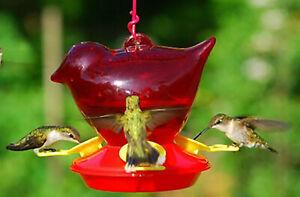 Red Bird Hummingbird Feeder - Made in USA