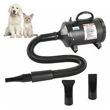 More details for 2800w pet dryer dog hair  blower cat dryer blaster dryer  grooming with 3 nozzle