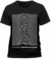 OFFICIAL Joy Division T Shirt Unknown Pleasures Post Punk Indie Medium XXL