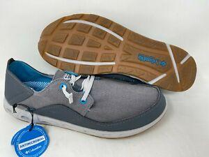 NEW! Columbia Men's Bahama Vent Relaxed PFG Shoes Gray/Blue #1920771053 140N tz
