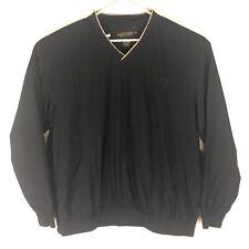 Donald Trump Golf Black Pullover Windbreaker Jacket Men's XL