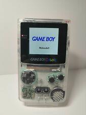 Nintendo Game Boy Color / IPS LCD Display / Transparent